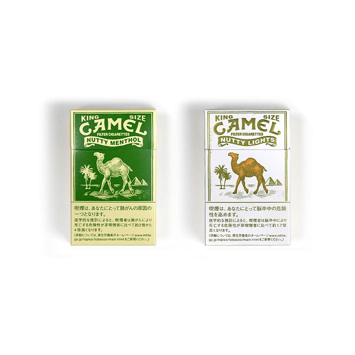 CAMEL MENTHOLのデザイン