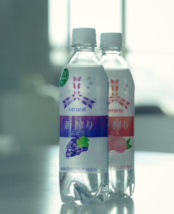 MITSUYA CIDER NIHON NO KAJITSUのパッケージデザイン