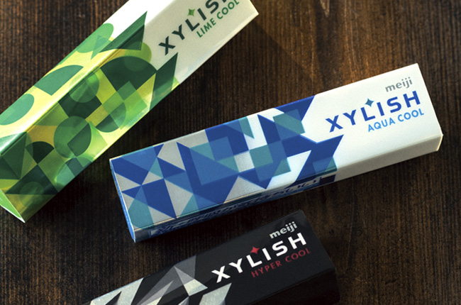 XYLISHのパッケージデザイン