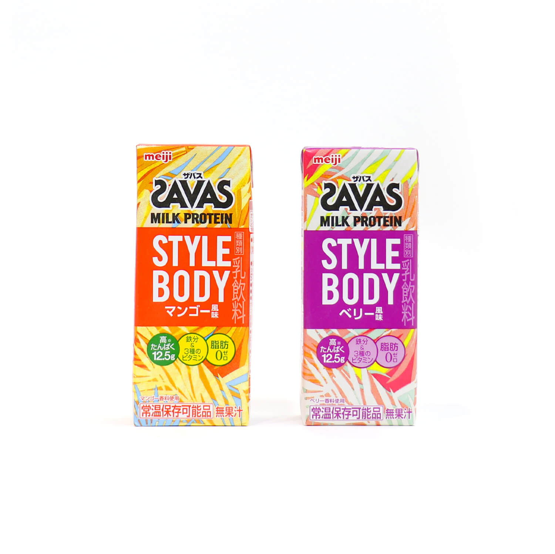 SAVAS  STYLE BODYのデザイン