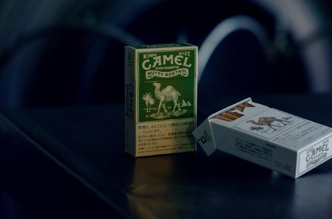 CAMEL MENTHOLのパッケージデザイン