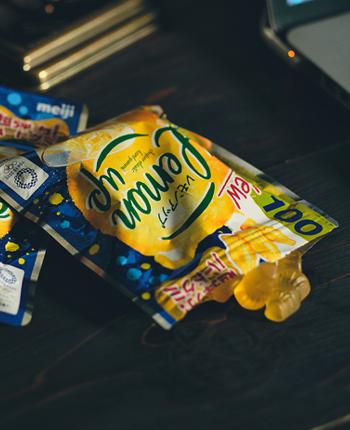 Lemon upのパッケージデザイン