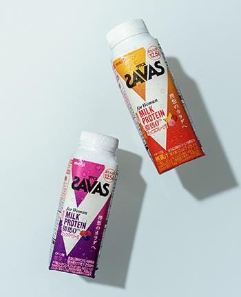 SAVAS FOR WOMANのパッケージデザイン