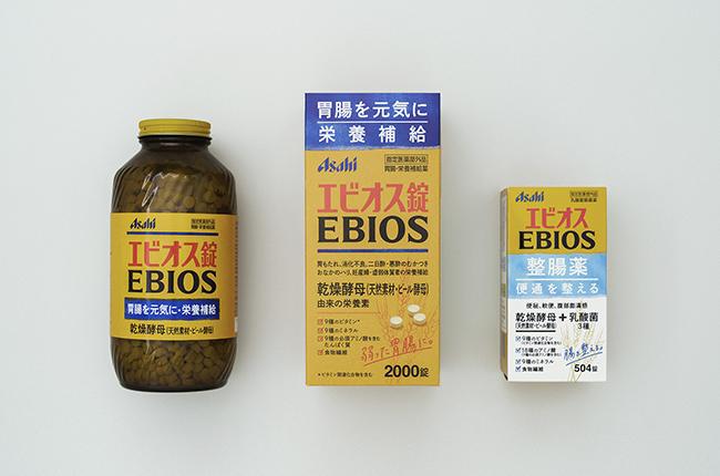 EBIOSのパッケージデザイン